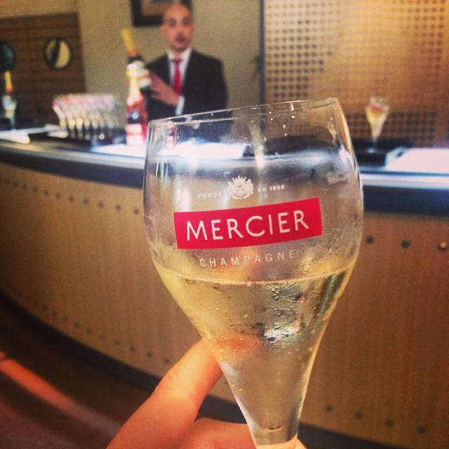 Mercier Champagne tasting!