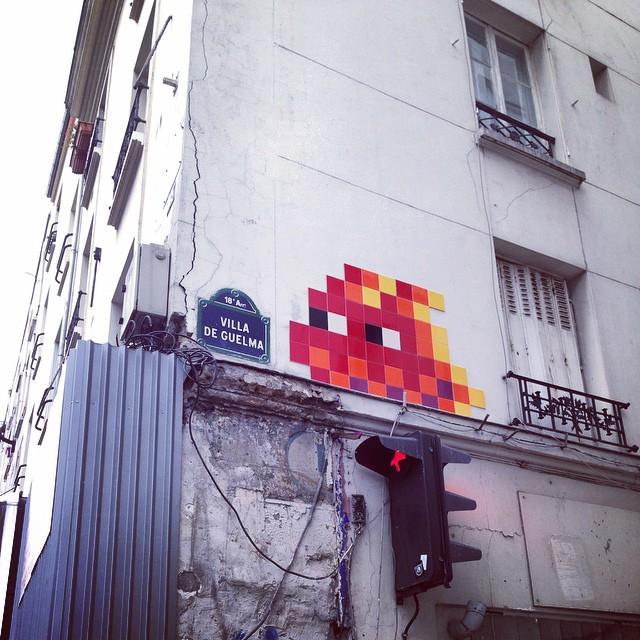 Street art in Montmarte
