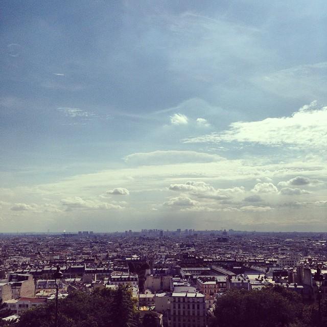 Paris from the Sacre-Corur