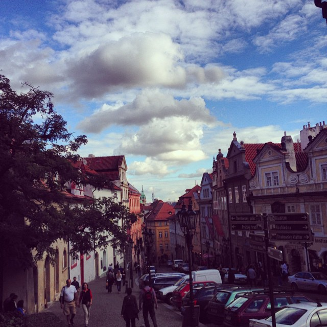 On the way to Prague Castle