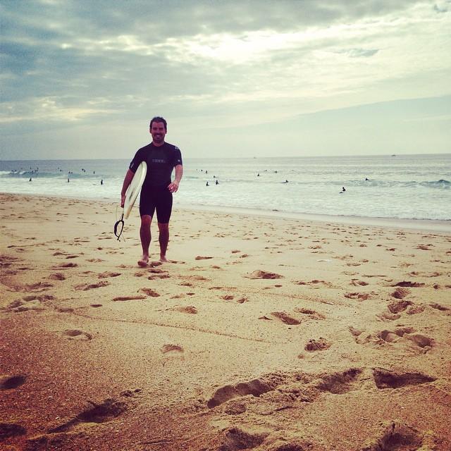 Late arvo surf in Hossegor