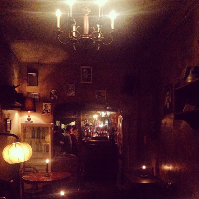 A funky bar in the Jewish Quarter