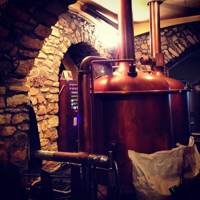 Underground micro brewery