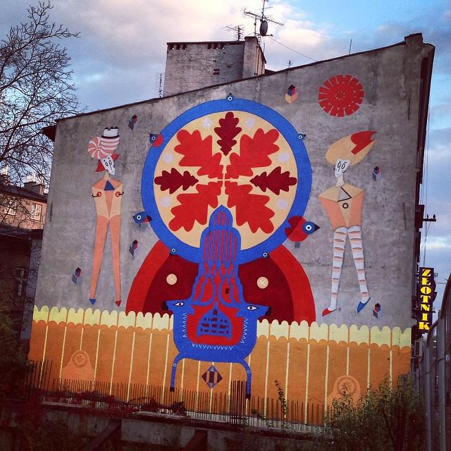 Street art in the Jewish quarter