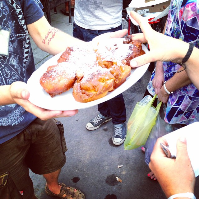 Polish doughnuts on the foodie tour
