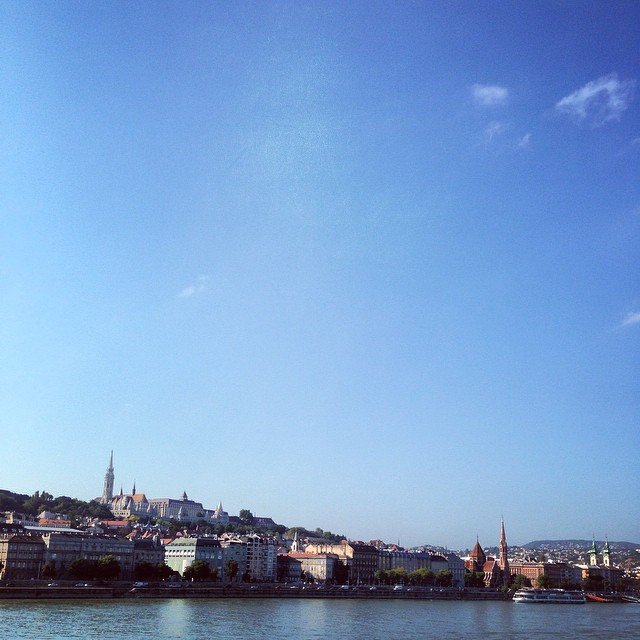 Cracker of a day in Budapest