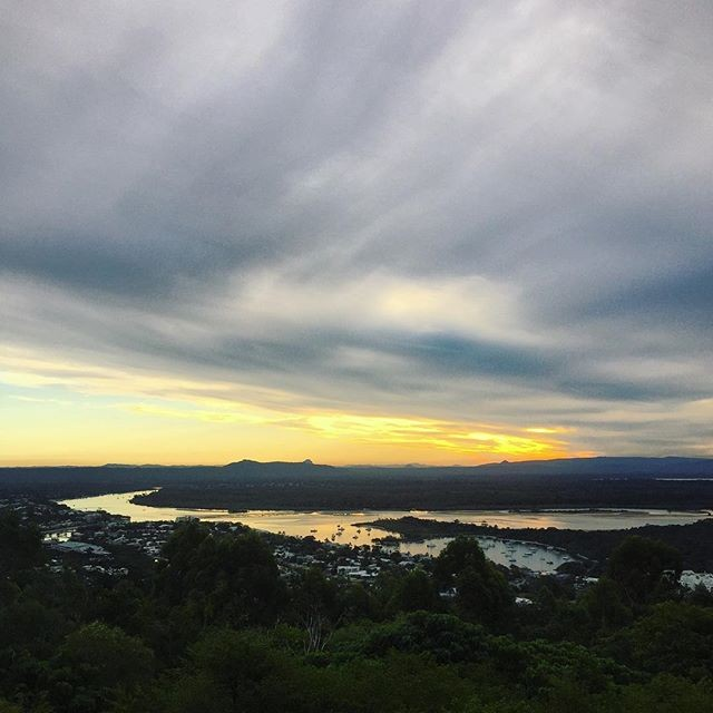 Sunset form the Laguna Lookout