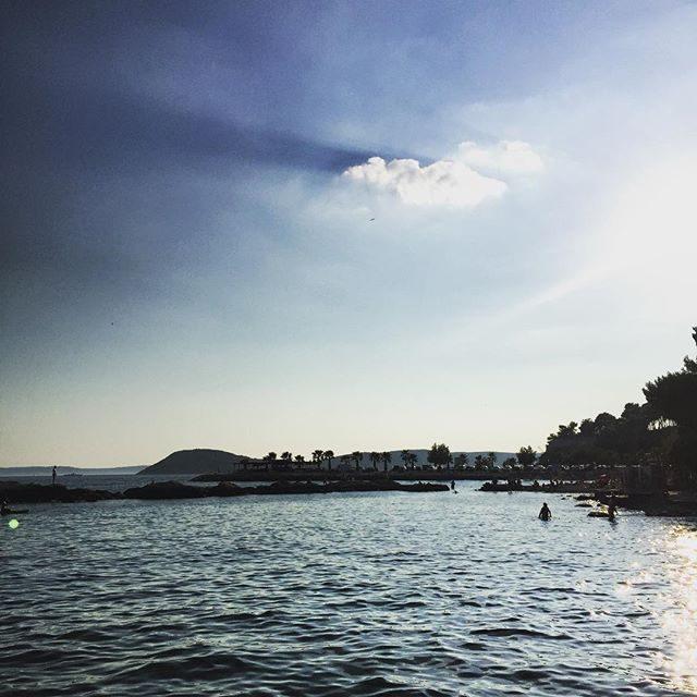 Pebble beaches in Split