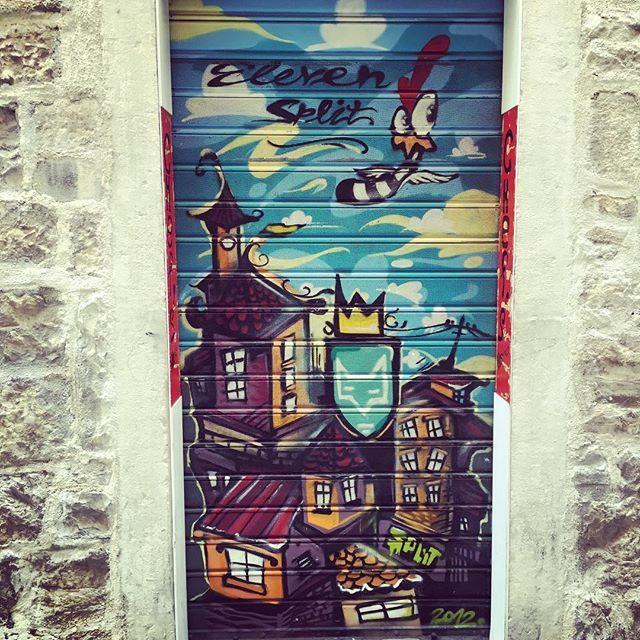 Street art in Split