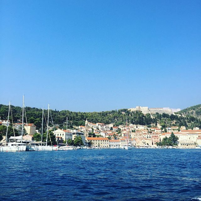 Hvar fort from the water