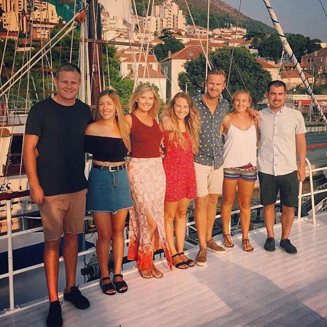 Our last night of Sail Croatia