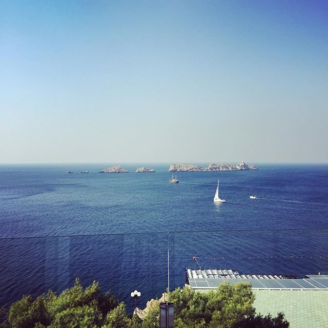 View from our balcony in Dubrovnik