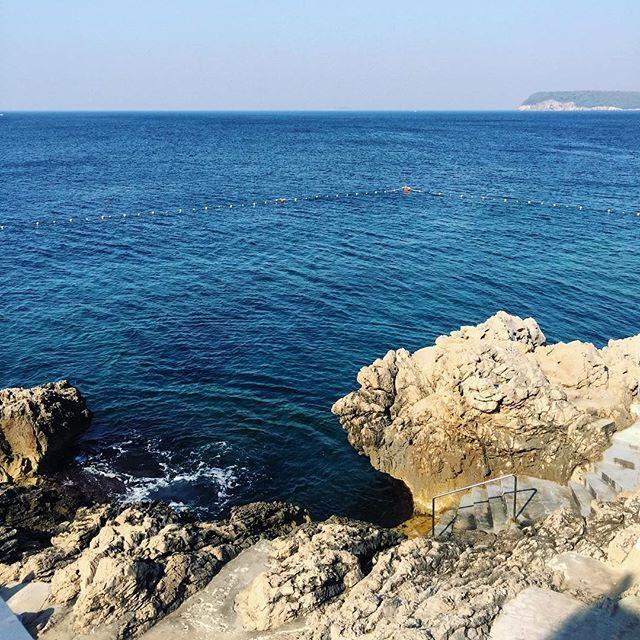 Swim spot in Dubrovnik