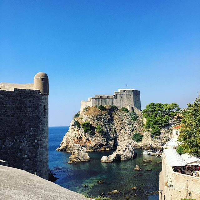 Just outside the walls in Dubrovnik