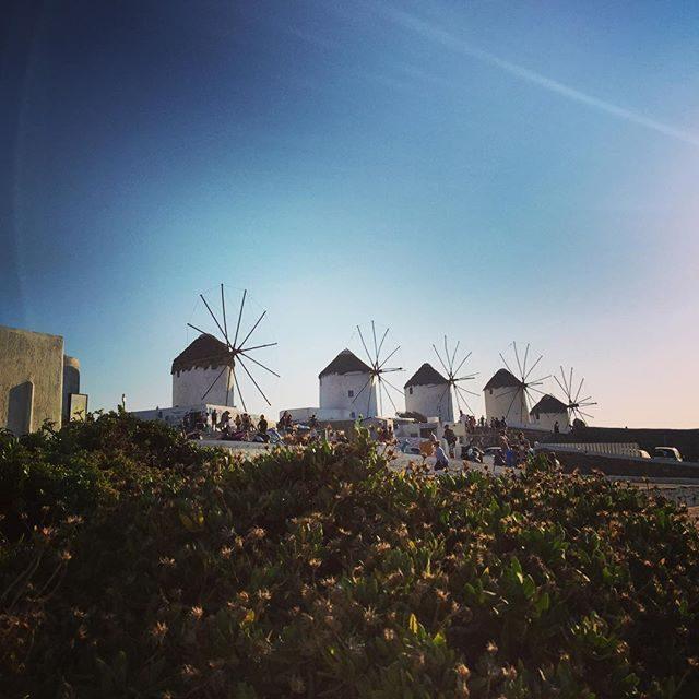 Windmills in Mykonos