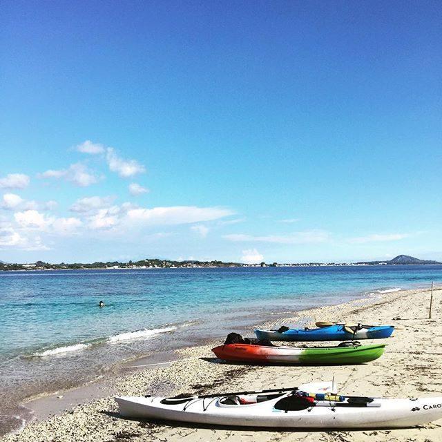 Swim stop on Turtle Island