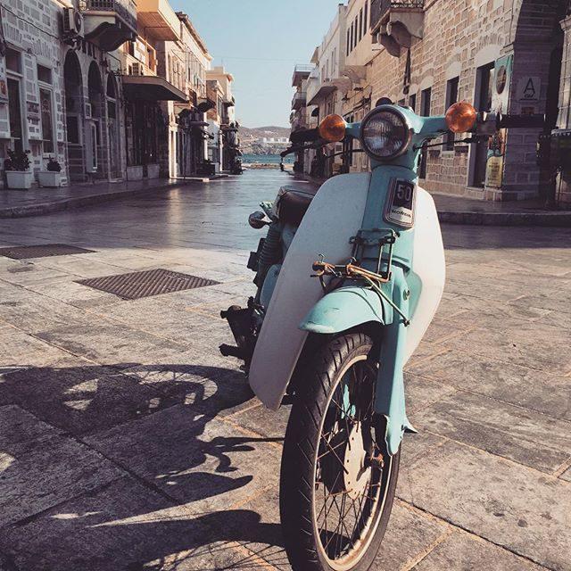 Bike in Syros