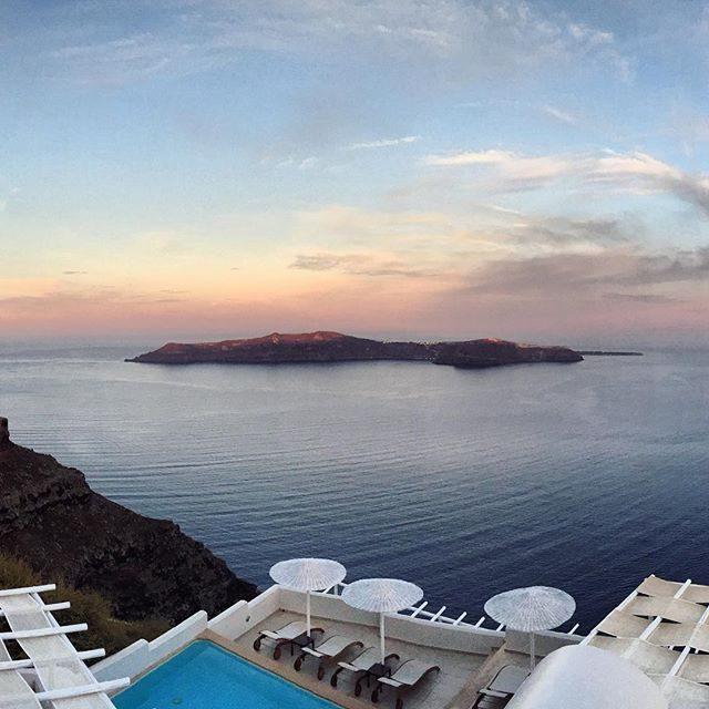 Santorini at dawn