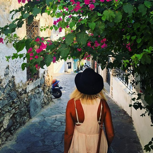 Walking the streets of Naxos