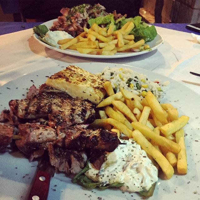 Mixed Grill and more Gyros!