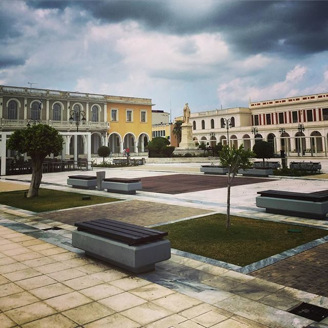 Main square in Zakynthos town