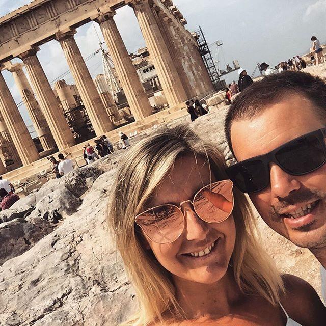 Parthenon selfie