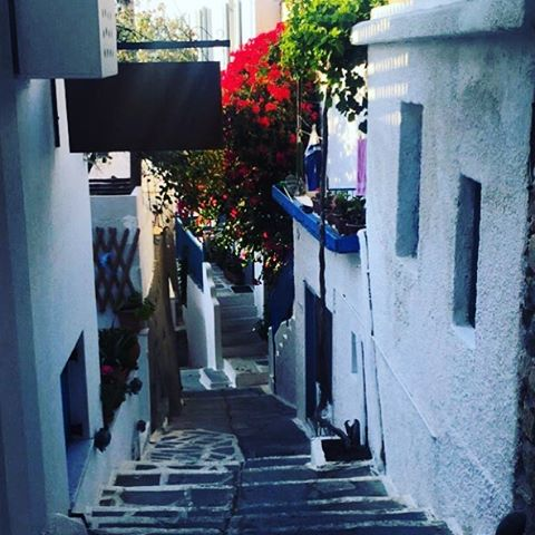Wandering the streets of Naxos