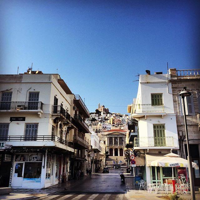 Syros town
