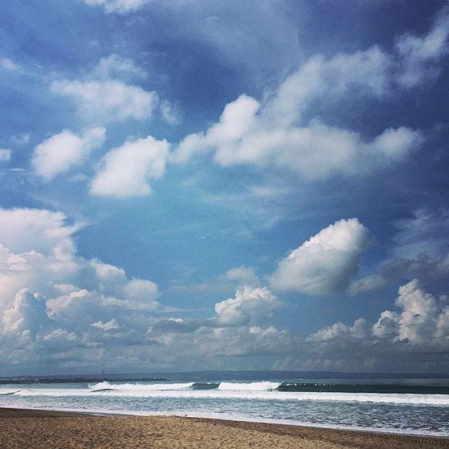 Surfs up in Legian