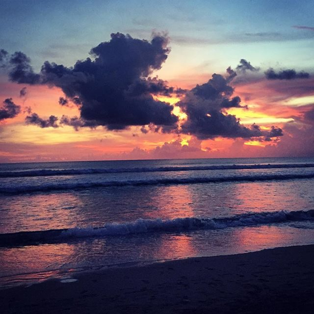 Sunset from La Plancha bar