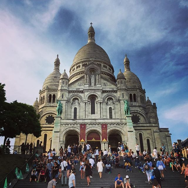 Sacre-Coeur steps