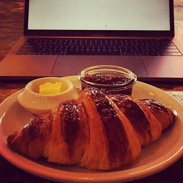 Fresh croissant, so good.
