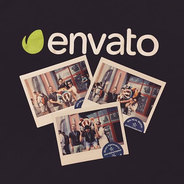 Some of the awesome envato team